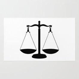 Balance Scales Rug