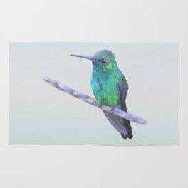 Cuban Emerald Hummingbird Rug