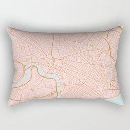 Cambridge map, Massachusetts Rectangular Pillow
