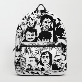 Box Of Assorted Faces Backpack