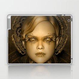 Steampunk female machine Laptop & iPad Skin