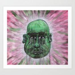 Green Man Art Print