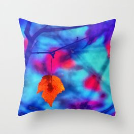 But I miss you most of all my darling, when autumn leaves start to fall... Throw Pillow