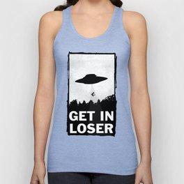 Get In Loser Unisex Tank Top