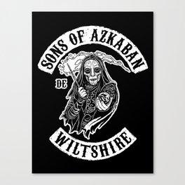 Sons of Azkaban Canvas Print