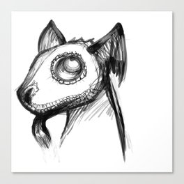 Batdog Canvas Print