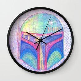 Boba Fett Wall Clock