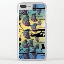 When She Was Here 9.10.2016 Clear iPhone Case