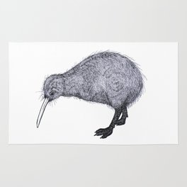 Kiwi Bird Rug