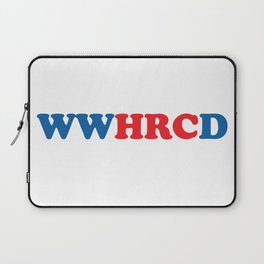 What Would Hillary Do (Red & Blue) Laptop Sleeve