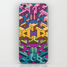 Square Necessities iPhone Skin