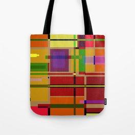 PIXEL MAP Tote Bag