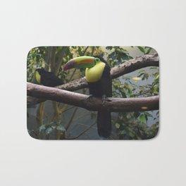 National Aviary - Pittsburgh - Keel Billed Toucan 1 Bath Mat