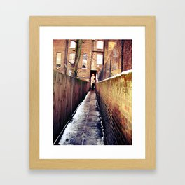 Lonely London Framed Art Print