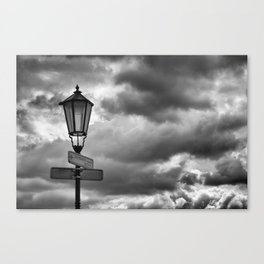 A Stormy Way Canvas Print