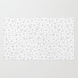 Forget Me Knot Natural Rug