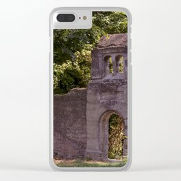 The old entrance Clear iPhone Case