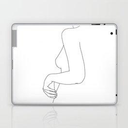 Figure line drawing illustration - Ivy Laptop & iPad Skin