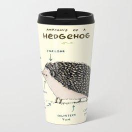 Anatomy of a Hedgehog Metal Travel Mug