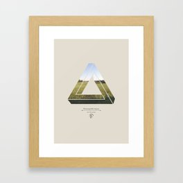 Fields of Green Framed Art Print