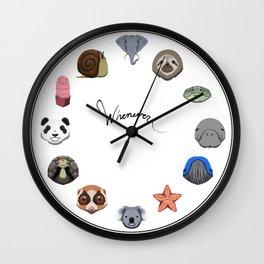 Slow Animals Wall Clock