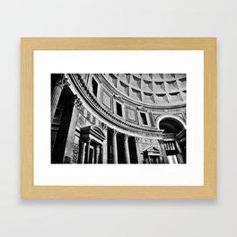 Rome Noir Framed Art Print