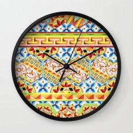 Gypsy Caravan Circus Wall Clock