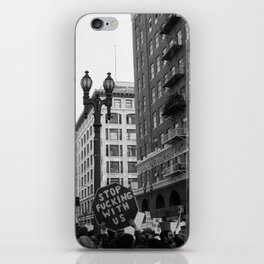 Protest - DTLA iPhone Skin