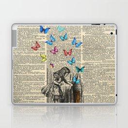 Alice In Wonderland - Let The Adventure Begin Laptop & iPad Skin