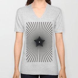 pattern 100 Unisex V-Neck