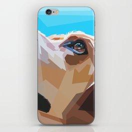 Beagle Dog Illustration iPhone Skin