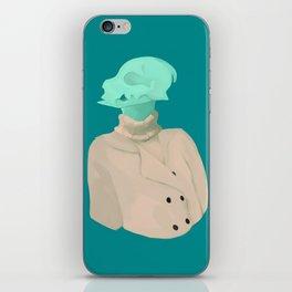 Skull babe 4 iPhone Skin