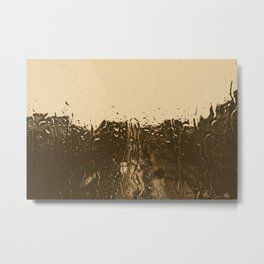 it´s raining outside Metal Print