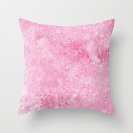 Pink Background Throw Pillow