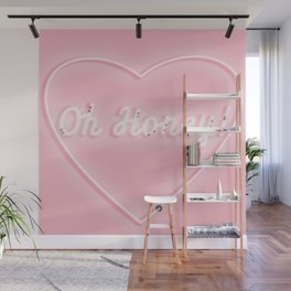 Oh Honey! 'Neon' Sign Wall Mural