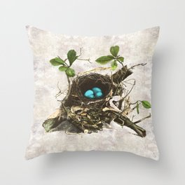 A commonplace miracle Throw Pillow