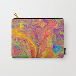 Unicorn psychedelic ice cream Carry-All Pouch