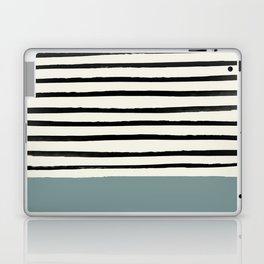 River Stone & Stripes Laptop & iPad Skin