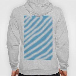 blue & white Hoody
