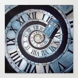 Through time and space... Canvas Print