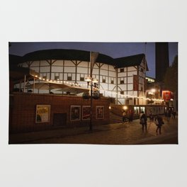 An Evening at the Globe Rug