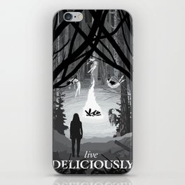 Live Deliciously iPhone Skin