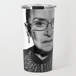 Ruth Bader Ginsburg Dissent Collar RBG Travel Mug