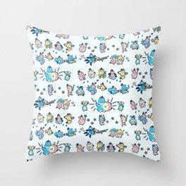 Mitchiri Mon March Throw Pillow