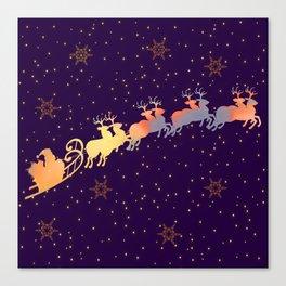 I dream of Santa Claus | Christmas Vision Canvas Print