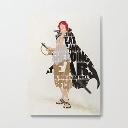 The Red Hair Metal Print