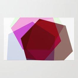Pastel Hexagons Rug
