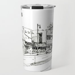 Midtown As Seen from the West Travel Mug