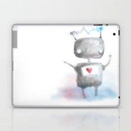 Robot Heartfelt Laptop & iPad Skin
