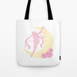 Sailor Moon Silhouette Tote Bag